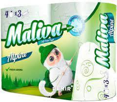 Туалетний папір Maliva Alpine 3 шару 4 шт. (3800090303985)