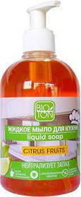 Мыло жидкое для кухни Citrus Fruits  500 мл дозатр Биотон (4820026150895)