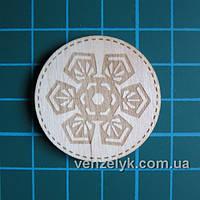 Деревянные украшения Кружочек 21, 35*35