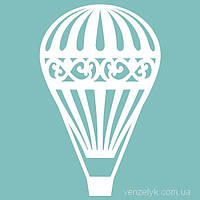 Чипборд Воздушный шар 01, 37*59