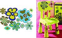 Бумага для декупажа Детский мотив: цветочки, 50х70 см