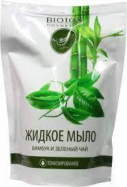 Мыло Bioton Cosmetics Бамбук и зеленый чай 460 мл (4823097600283)