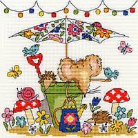 """Набор для вышивания Garden Mouse """"Садова мишка"""", XSW8"""