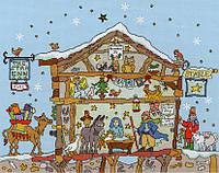 Набор для вышивания Bothy Threads XCT27 Cut Thru' Nativity