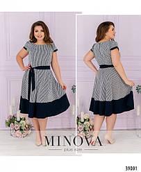 Романтичное нежное  платье большого размера. Размер: 50, 52, 54, 56