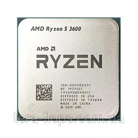 Процессор AMD Ryzen 5 3600 Socket AM4 (100-100000031BOX) Б/У