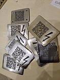 Лазерне гравірування металу, скла, дзеркал, дерева, шкіри, каменю, фото 3