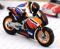 Флешка  Мотоцикл Honda Мотоциклист 8 Гб, фото 1