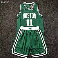 Зелена форма вишивка Nike Kyrie Irving №11 Boston Celtics NBA