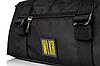 Спортивна сумка з відділом для взуття WLKR (чорна), фото 2