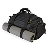 Спортивна сумка з відділом для взуття WLKR (чорна), фото 3