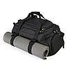 Спортивная сумка с отделом для обуви WLKR (черная), фото 3