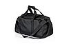 Спортивная сумка с отделом для обуви WLKR (черная), фото 5