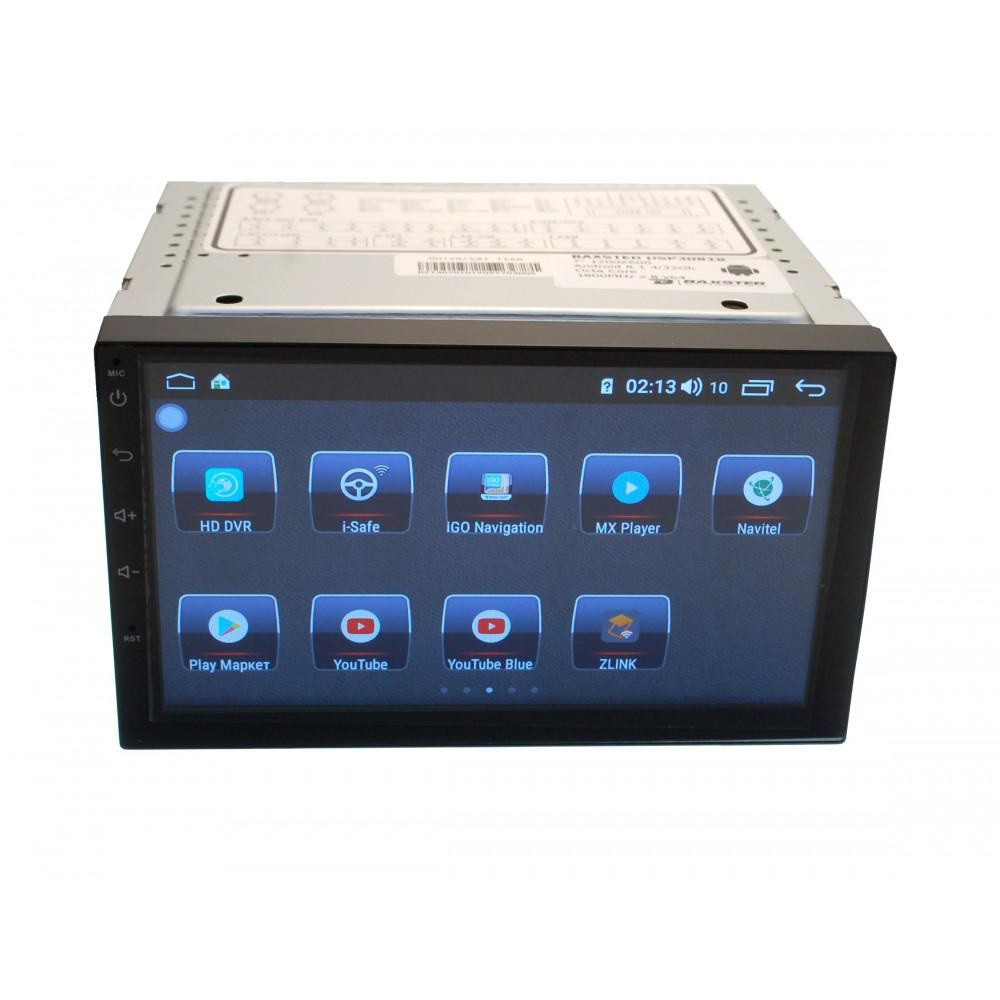 Мультимедіа 2-DIN Baxster 30818DSP 7 Android 8,1