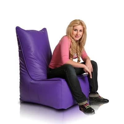 Безкаркасне крісло Tia-Sport Монарх 50х70х100 см фіолетовий (sm-0700)
