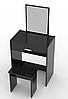 Туалетный столик + табурет AVKO ADT 006 Black