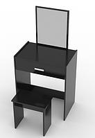 Туалетний столик + табурет AVKO ADT 006 Black, фото 1