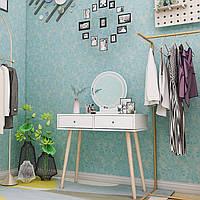 Туалетний столик + табурет AVKO ADT 008 White LED підсвічування, фото 1