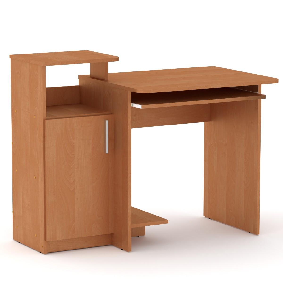 Стол компьютерный Компанит СКМ 2 110х60х87 см Ольха