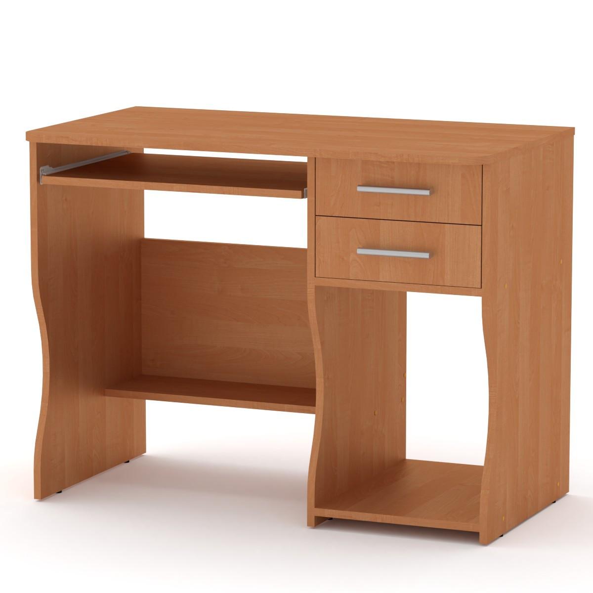 Стол компьютерный СКМ 7 Компанит 100х55х77 см Ольха