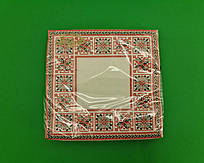 Серветка декор (ЗЗхЗЗ, 20шт) La Fleur Симетричний орнамент (1 пач.)