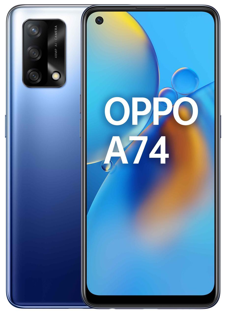 Смартфон OPPO A74 4/128GB Midnight Blue (6678318)