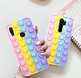 Чехол антистрес Pop it case на Xiaomi Redmi Note 8, фото 3