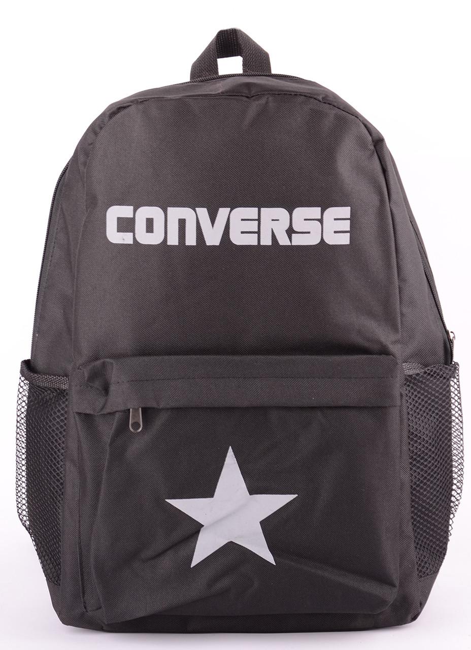 27333e793278 Рюкзак Converse черный c белым логотипом 13х41х30 (реплика) - Promparfum —  парфюмерия, косметика