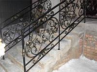 Кованые перила для лестницы под заказ в Херсоне