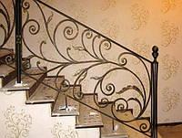 Перила для лестниц металлические заказать в Херсоне