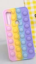 Чехол антистрес Pop it case на Xiaomi Redmi Note 8