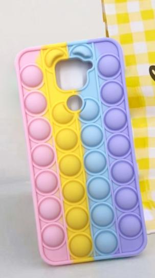 Чехол антистрес Pop it case на Xiaomi Redmi Note 9 /