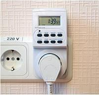 Розетка-таймер электронная Feron TM 22 для нагревательных приборов.