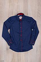 Рубашка для мальчика школа рост 116-164 (6-14 лет) Турция