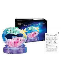 Пазлы 3D Зодиак Рыбы светящийся 45 деталей