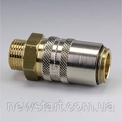 Быстроразъемные соединения температурные, резьбовой монтаж (размер штекера 13 мм, DN 9)