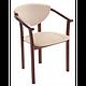 Кресло деревянное мягкое, фото 3