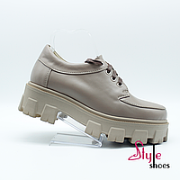 Туфли женские в стиле «Tractor», фото 1