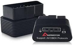 Автосканер диагностический адаптер OBD  Bluetooth/WIFI ELM327 v1.5
