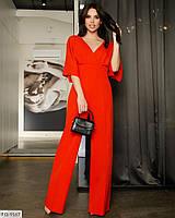 Брючный комбинезон женский красивый нарядный с брюками клеш р-ры 40-46 арт.201