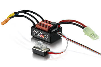 Регулятор HOBBYWING QUICRUN 16BL30 30A 2-3S вологозахищений для автомоделей