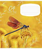Тетрадь 18 листов в линию Школярик Star 018-2864L для девочек