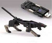 Креативная USB-флешка Трансформер Робот Собака, фото 1