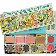 Палетка для макияжа лица In theBalm of Your Hand (тени, румяна, бронзер, хайлатер, блеск для губ)
