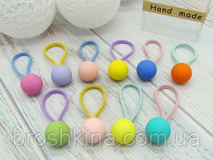 Детские резиночки для волос 10 шт. в коробочке