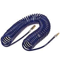 Alloid. Шланг спиральный для пневмоинструмента 8мм*12мм*15м (полиуретан) (ШП-81215)