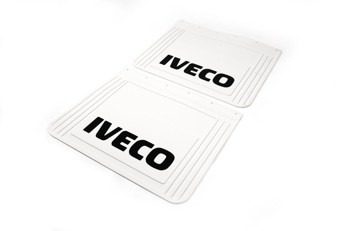 Бризковики білі Iveco 60*50