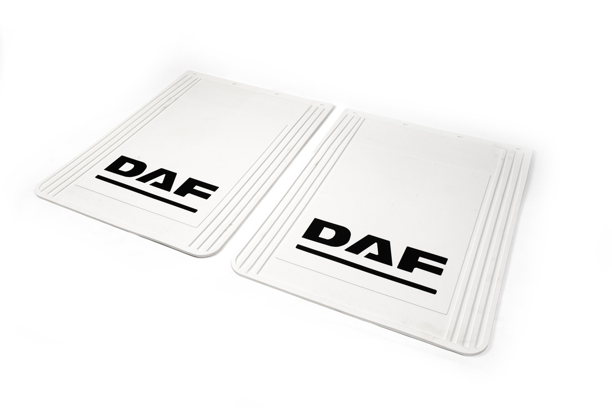 Брызговики белые Daf 60*77