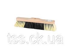 Щетка для пола MASTERTOOL 320х55х70 мм ПЭ+ПВХ+ПП деревянная без ручки 14-6345