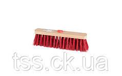 Щетка промышленная MASTERTOOL 300х55х90 мм ПЭ+ПВХ деревянная с внутренним креплением без ручки 14-6364